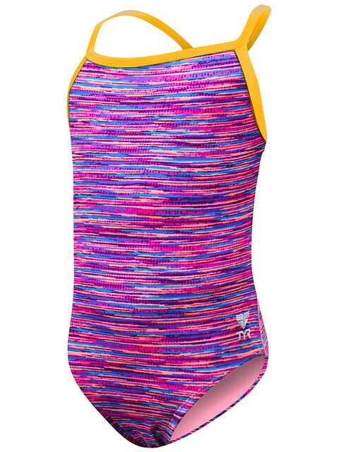 TYR Sunray Diamondfit Bathing Suit Girls pink/multi